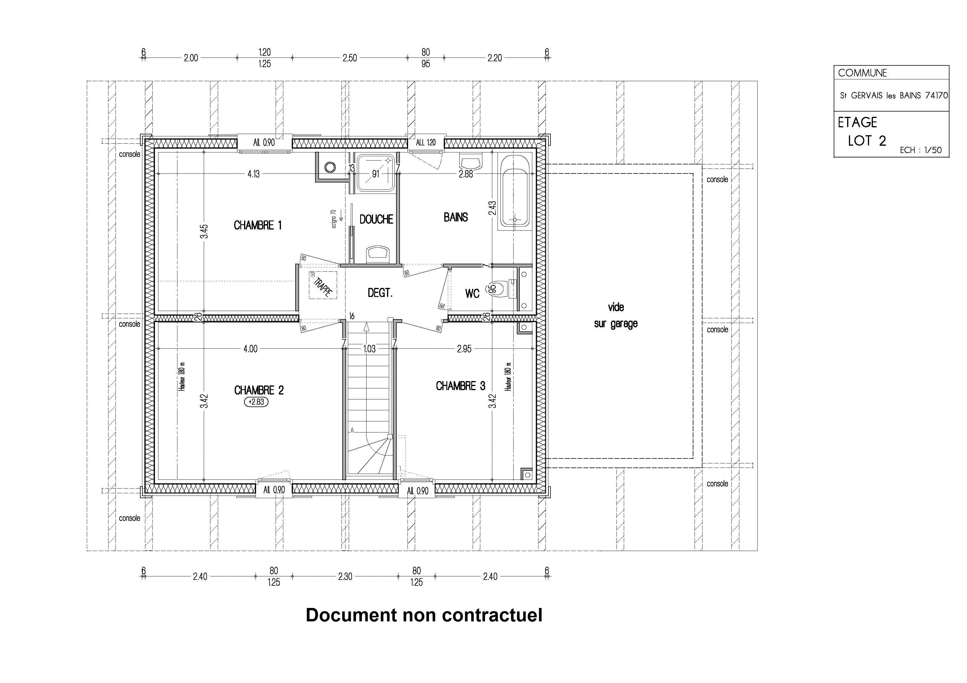 vente maison ou chalet maison individuelle 4 pi ces saint gervais les bains 74170 entre st. Black Bedroom Furniture Sets. Home Design Ideas